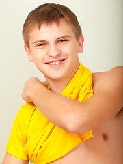 Cute young stud Eduardas