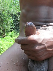 Carlos Jerks Off His Uncut Latin Cock