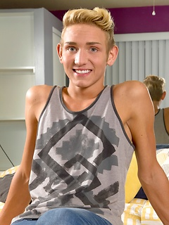 teen gay model Dylan Hall